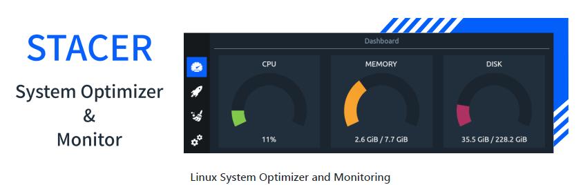Оптимизация Linux с помощью Stacer 4