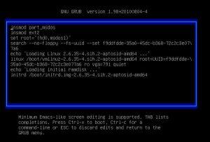 Предзагрузочный файл в Linux