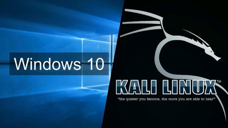 Установка Kali Linux на операционную систему Windows 10