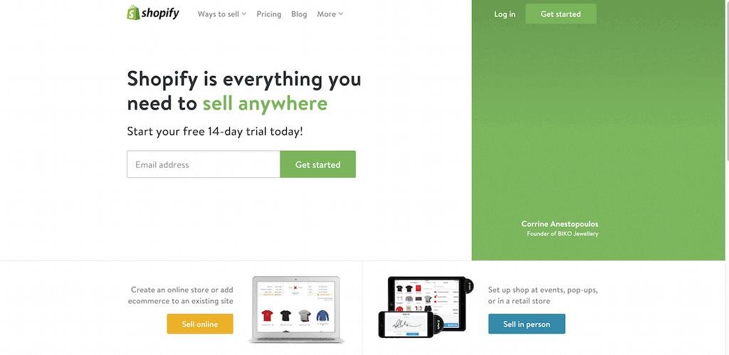 Shopify - ещё одна CMS для eCommerce