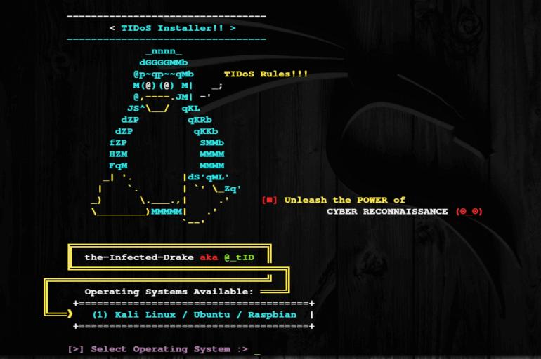 TIDoS -инструмент для сканирования сайта на уязвимости