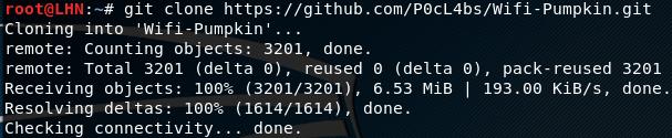 Клонирование с GitHub на Kali Linux.