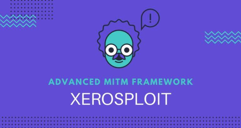 Инструмент для проведения атак MITM - Xerosploit