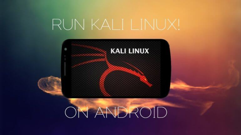Установка Kali Linux на Android смартфон 8