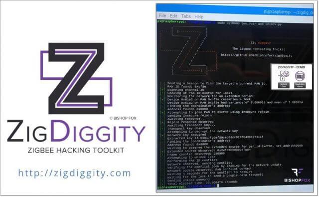ZigDiggity — набор инструментов для взлома ZigBee